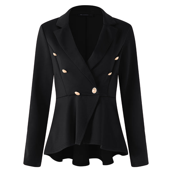 New Plus Size Womens Business Suits Spring Autumn All-match Women Blazers Jackets Slim Long-sleeve Blazer Women Suit 5XL