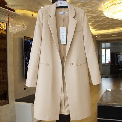 spring and autumn new suit female long sleeve large size women blazers orange plus size 3XL jacket suit jacket