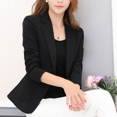 Blazer Feminino Small Suit Jacket Female New Spring Blazer Women Chaqueta Mujer Blaser Fashion Blazer Mujer