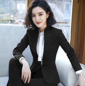 Blazer Women Feminino New Sping Autumn Female Long Sleeve Formal Office Elegant Coat Women's Jacket Outerwear Femme Blaser