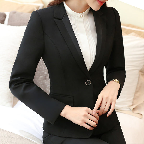 Blazers Women's Single-Button Suit Jacket New 2020 Casacos Femininos Basic Jackets Slim Blazer Suits For Woman