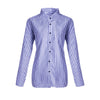 New Women Striped Shirts Autumn Long Sleeve Turn-Down Collar Female Casual Blouse Shirts Blusas Top Plus Size 3XL