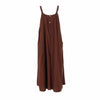 Suspenders Rompers Womens Jumpsuit Sleeveless linen Summer Overalls Fashion Wide Leg Pants Female Trousers Plus Sizes