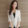 Casual Blazer Women Jacket Summer Female Business Suit Plus Size Blazer Feminino Manga Longa Office Blazers Slim 70N0468