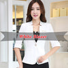 Elegant Ladies Blazers 2017  Fashion Single Button Blazer Women Suit Jacket Work Office Bussines Blazer Women Plus Size Blazer