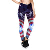 2018 New High Waist Women Leggings Captain America Shield 3D Printed Slim Jeggings XS-XL Plus Size Fitness Leggings