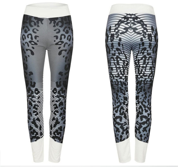 Women Leopard Push Up Leggings Pants High Waist Fitness Legging Fashion Printed Leggings Femme Slim Jeggings 2 Colors