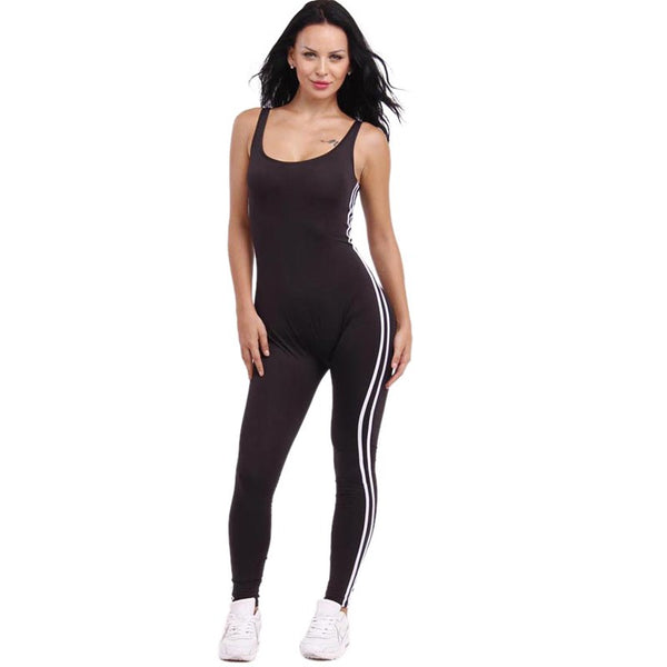New summer Rompers Women Jumpsuit Bodysuits Solid Sleeveless Backless Casual One Piece Sexy Bodycon playsuits tracksuit overalls