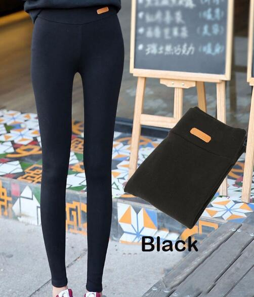 2018 Spring Leggings Women High Waist Leggins Pants Warm Punk Legging Gothic Cotton Plus Size Leggings RZF1449