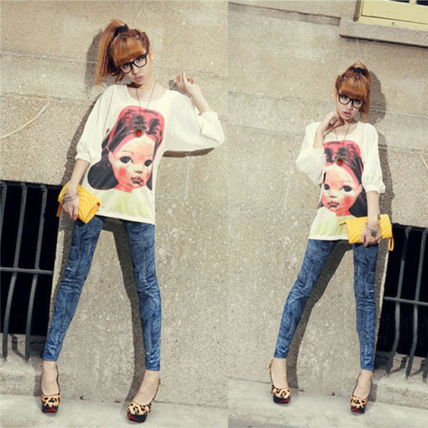 Slim Leggings Pants Trousers Sexy Women Lady Jeans Skinny Leggings Stretchy Wholesales 2018