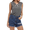 Brand 2020 Summer Style Women Ripped Hole Denim Shorts High Waist Female Sexy Mini Short Jeans Lady Bottoms Plus Size