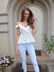 Broderie jolie blouse