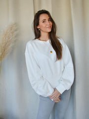 Loulou sweater white