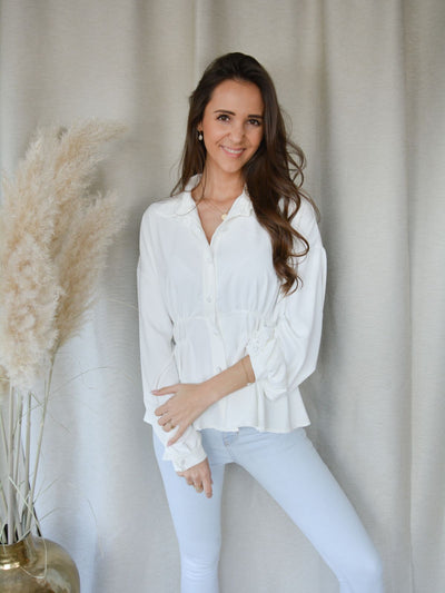 Anna blouse white