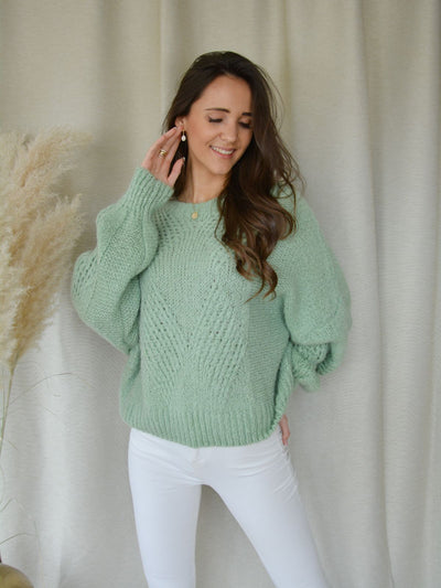 Alice sweater green
