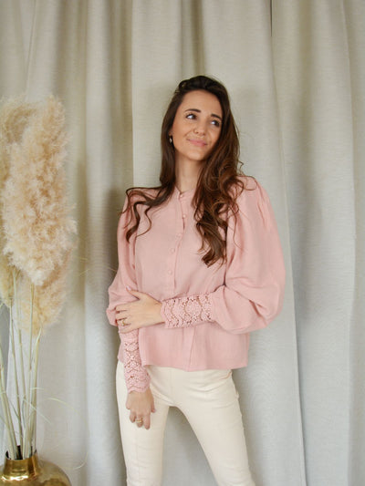 Amy blouse pink