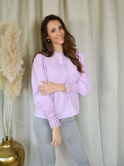 Amy blouse lila