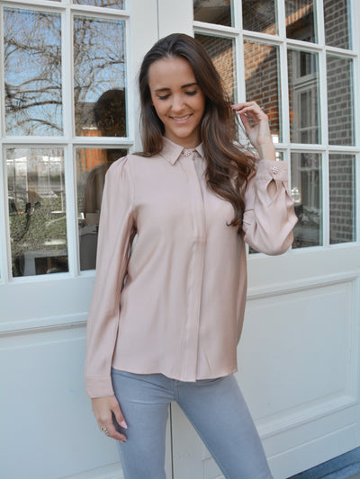 Bloom blouse pink