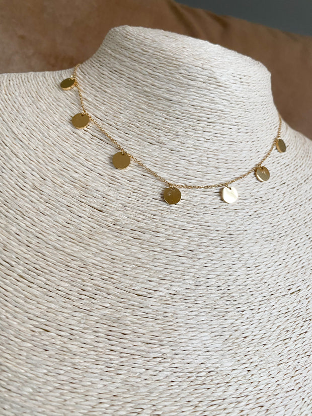 Fringle necklace