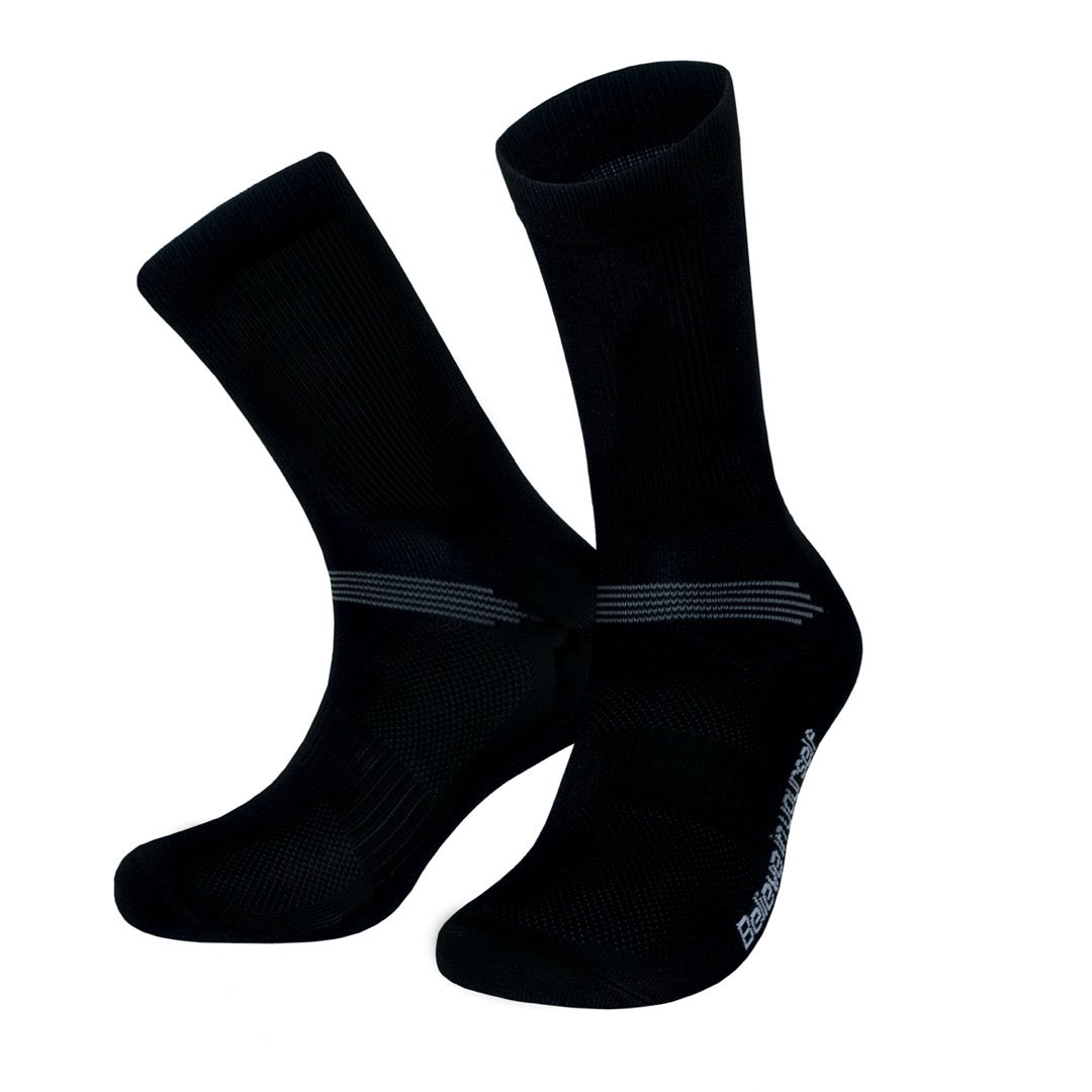 PIPPO - Cycling Performance Socks  Classic Black