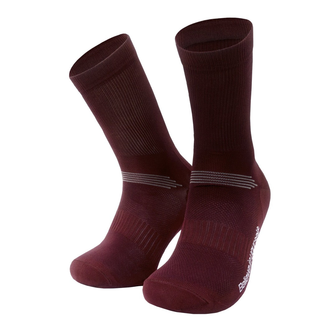 PIPPO - Cycling Performance Socks Bordeaux Classic