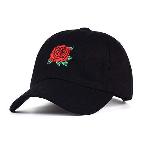 Red Roses Baseball Cap