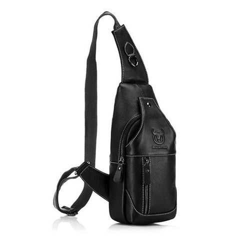 Sexton Leather Crossbody Bag