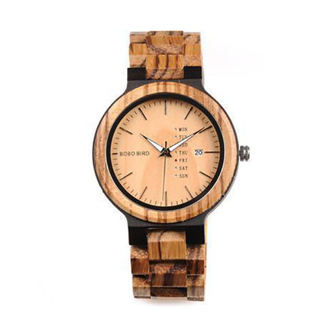 Xavier Wooden Watch