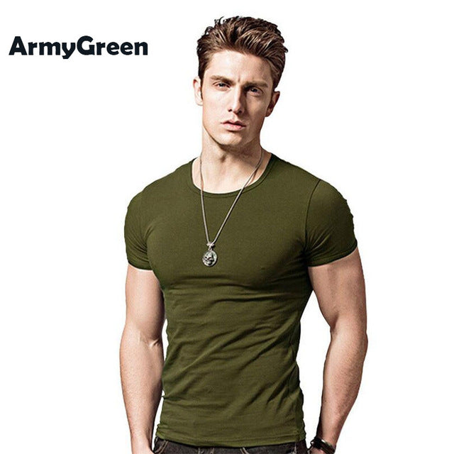 Casual Slim Fit T- Shirt