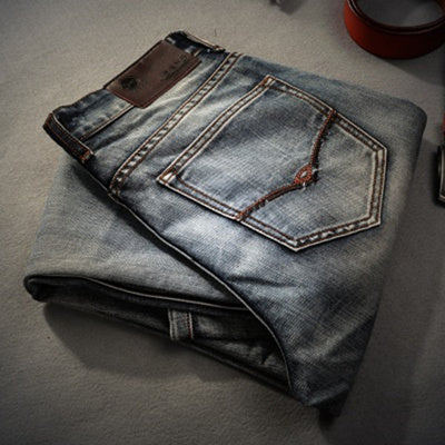Casual Men Denim Pants