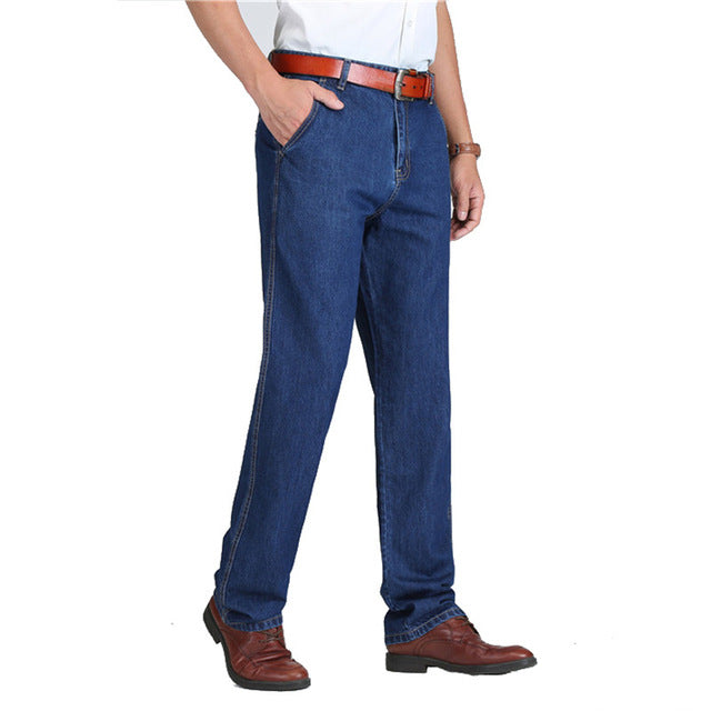 Classic Denim Male Pants