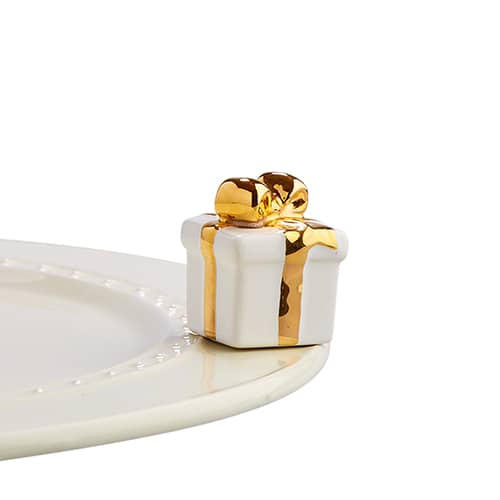 Golden Wishes (White Gift w/ Gold Ribbon) Mini