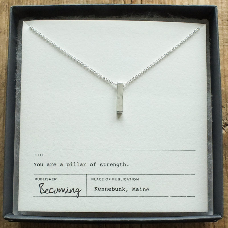 Becoming Strength Necklace