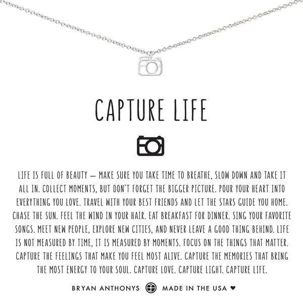 Capture Life Necklace