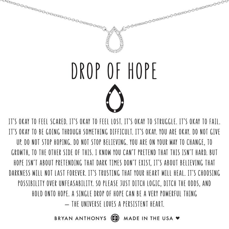 Drop of Hope Necklace