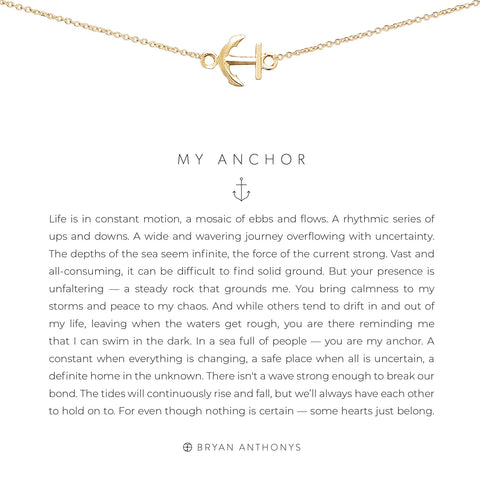 My Anchor Necklace