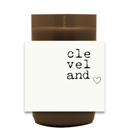 My Heart is in CLE Candle
