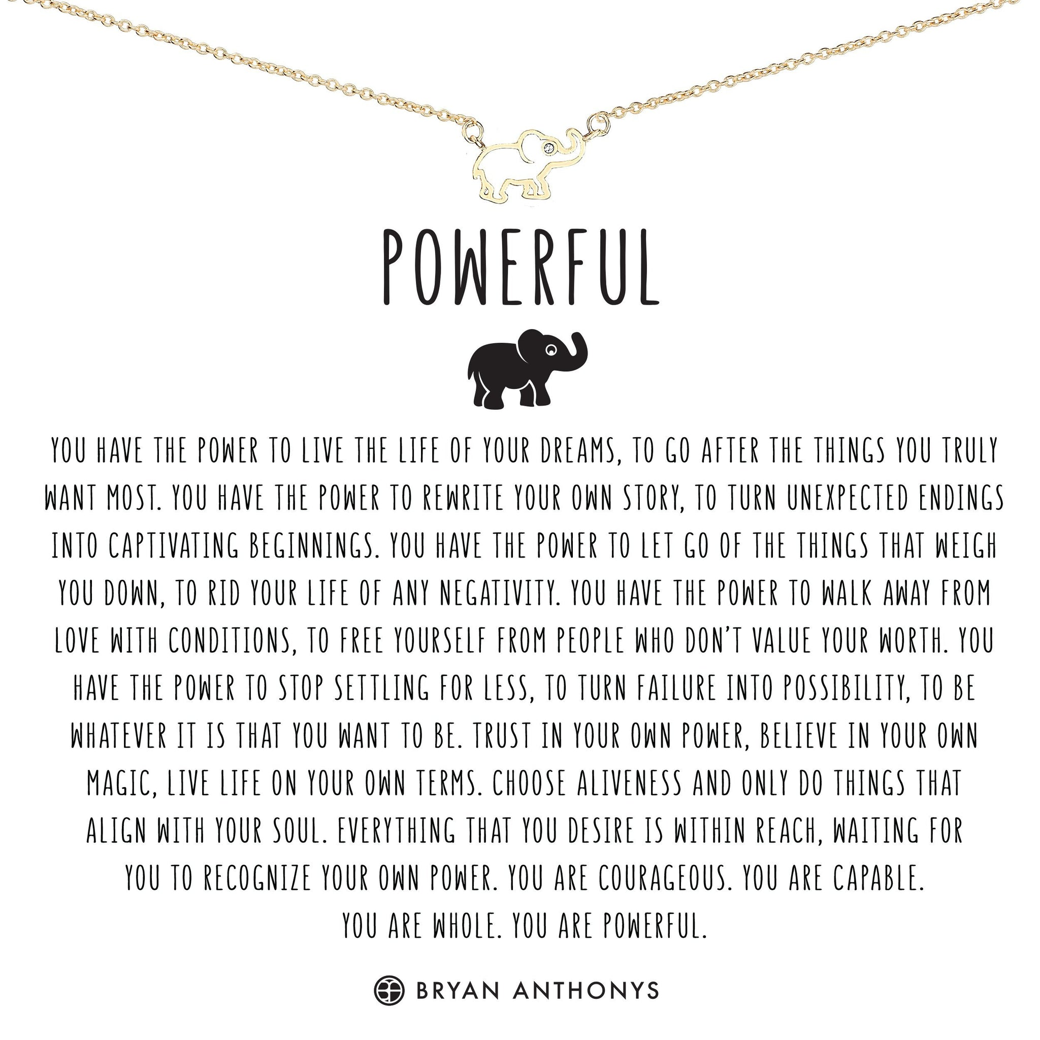 Powerful Necklace