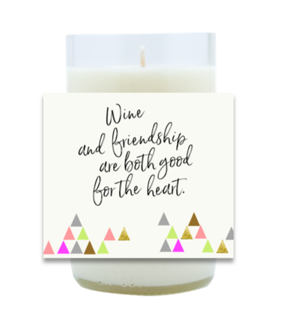 Wine and Friendship Candle