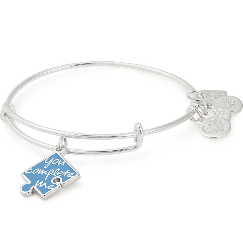 You Complete Me Charm Bangle | National Autism Association
