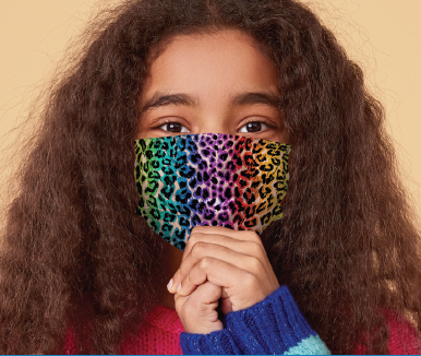 Children's Face Masks - 12 Different Patterns Available!