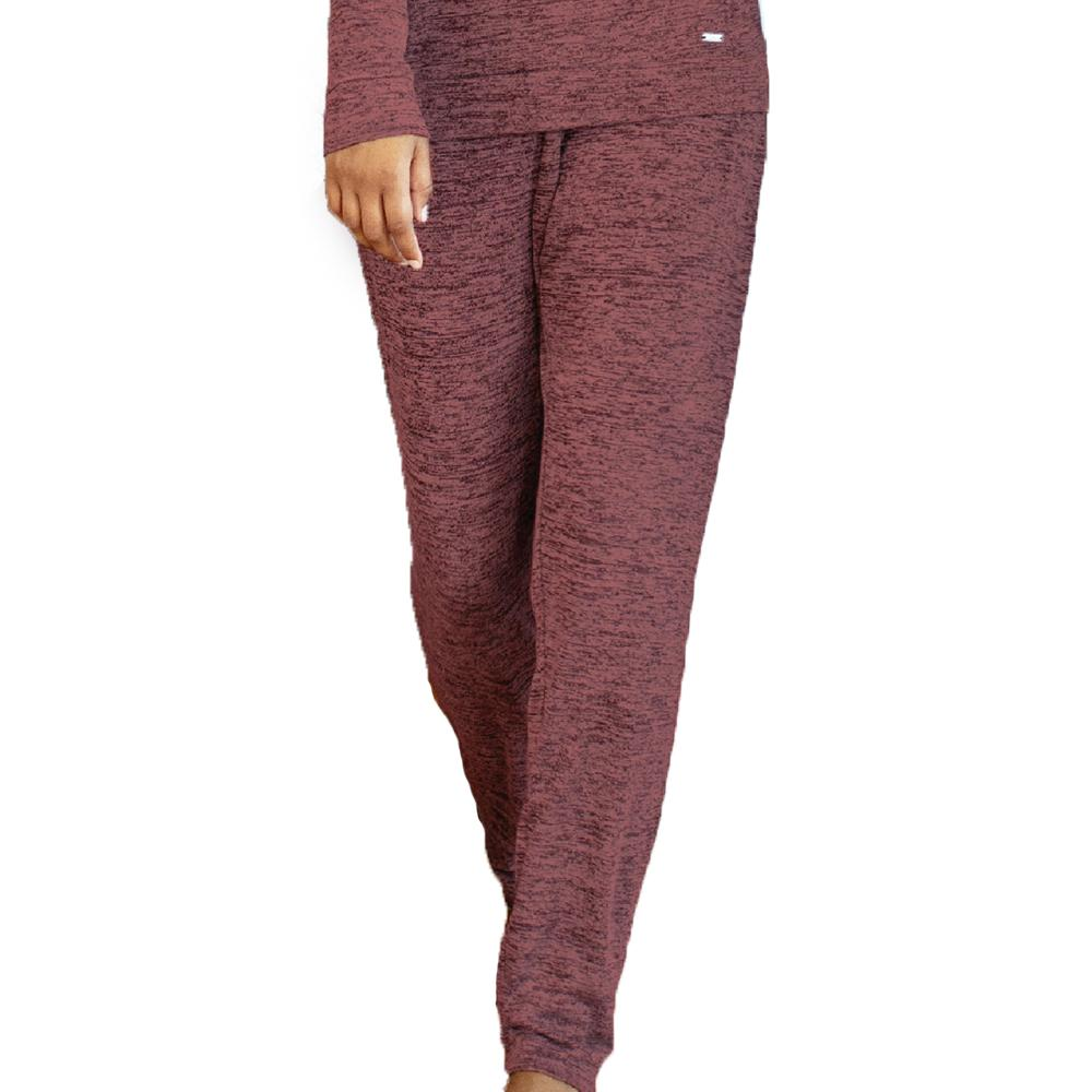Carefree Threads Lounge Pants with Pockets - Clay