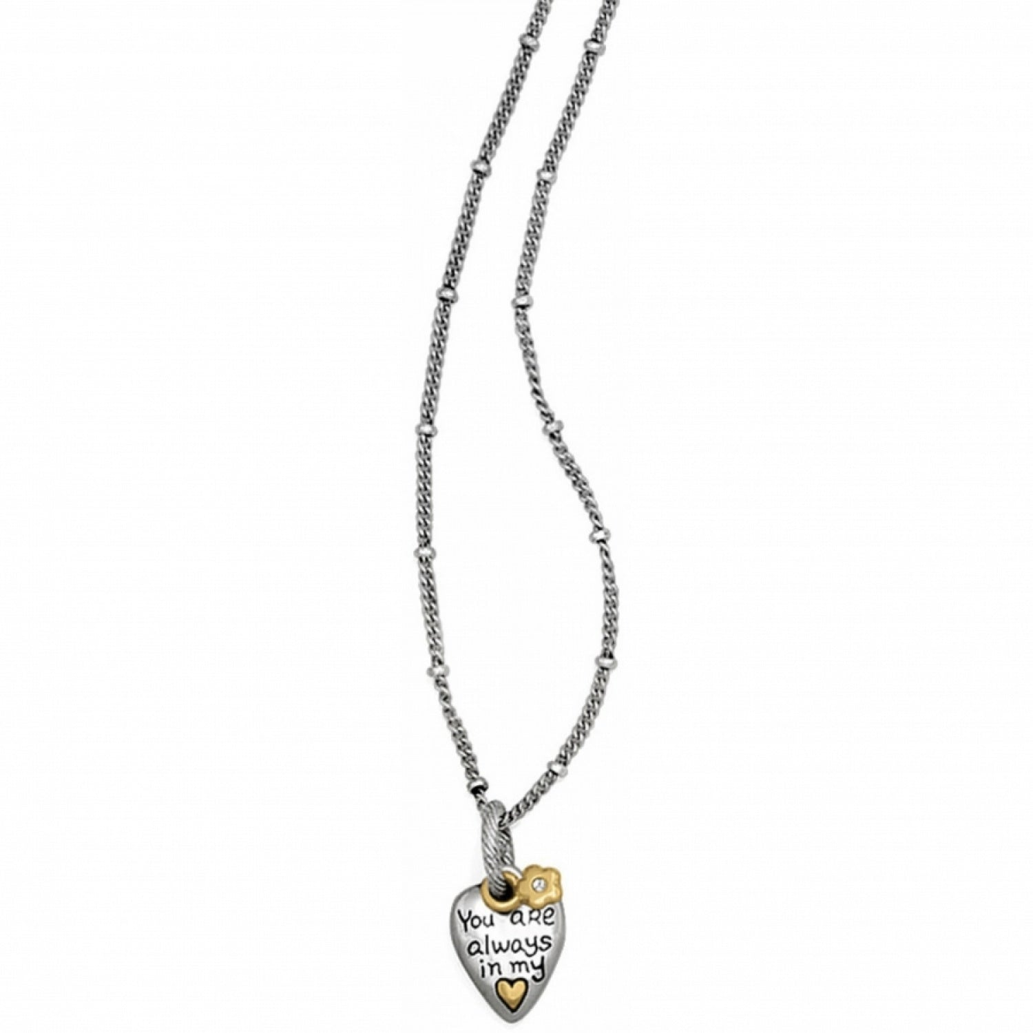 In My Heart Petite Necklace