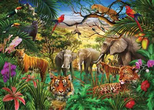 Jungle Life Jigsaw Puzzle