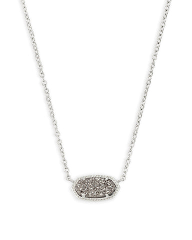 Elisa Necklace- Silver