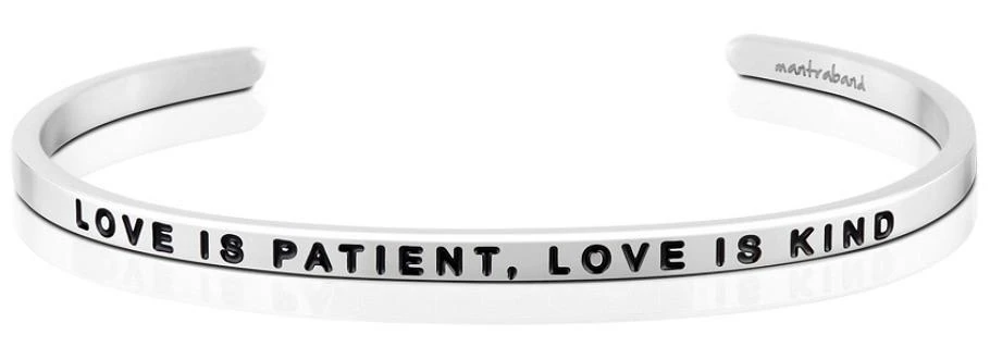 Love is Patient, Love is Kind MantraBand
