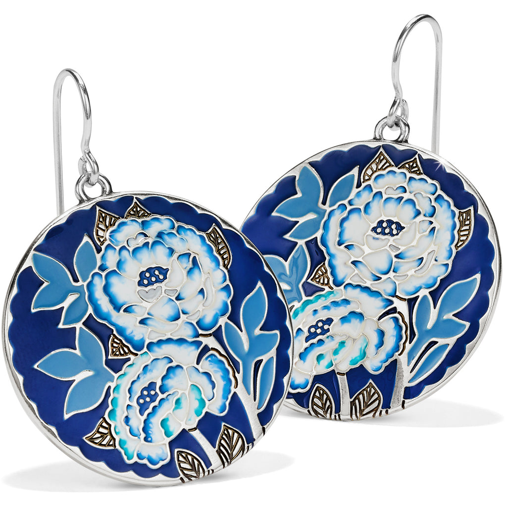 Journey To India Indigo French Wire Earrings