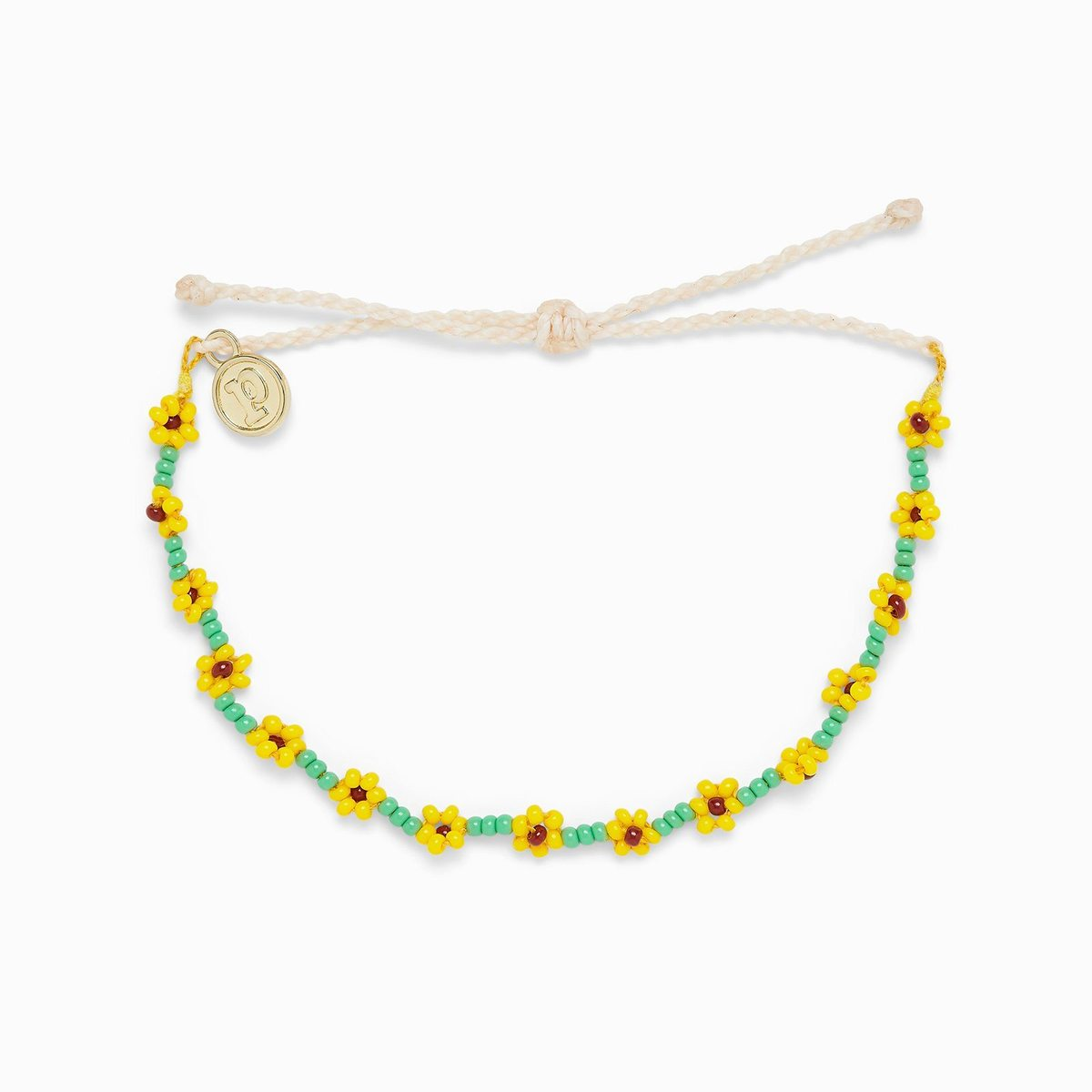 Sunflower Seed Bead Bracelet