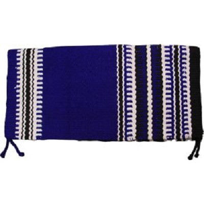 Saddle Blanket Blue Zip