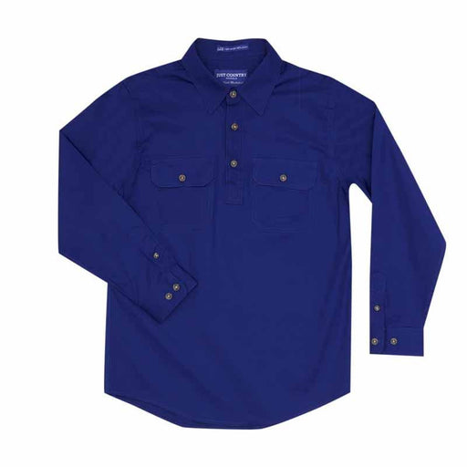 Work Shirt Boy's 1/2 Button